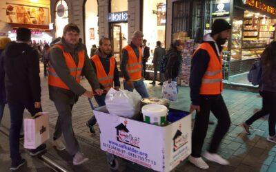 Als Freiwillige bei Sefkat-Der